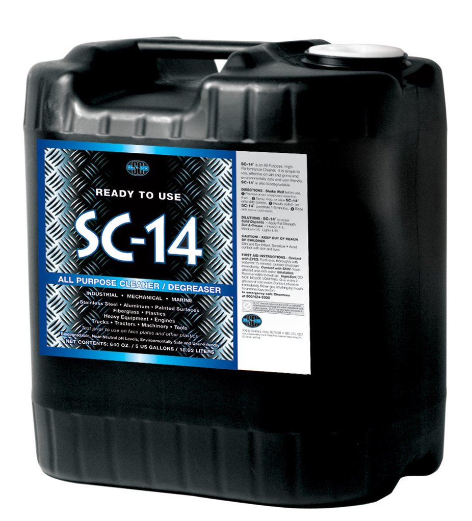 SC-14® All-Purpose Cleaner/Degreaser for Industrial, Marine & Shop Use
